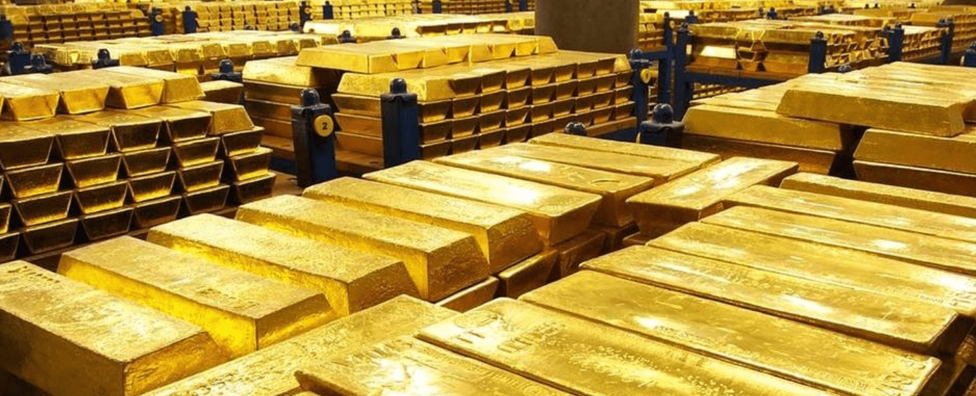 Contra qué activos compite el oro