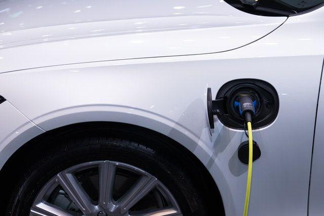 coche electrico cobre